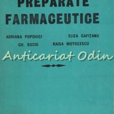 Preparate Farmaceutice - Adriana Popovici, Eliza Gafitanu