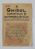 GHIDUL TURISTULUI SI AUTOMOBILISTULUI , HARTA ROMANIEI , CAROUL 13 - ORADEA de M.D. MOLDOVEANU , 1936