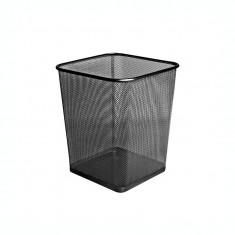 Cos hartie metalic mesh patrat Forofis 91328 negru