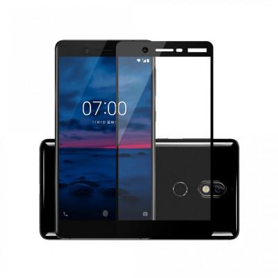 Folie Sticla Nokia 7 Flippy Full Face Negru foto