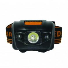 Lanterna frontala LED Gadget, 35 lm, 1 x baterie, 4 moduri operare