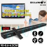 Soundbar Smart 60W Blitzwolf BW-SDB1 Bluetooth HDMI