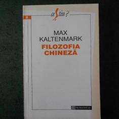 MAX KALTENMARK - FILOZOFIA CHINEZA