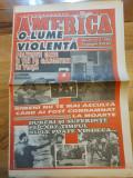Revista america o lume violenta  anul 1,nr. 1 - din 1995-prima aparitie