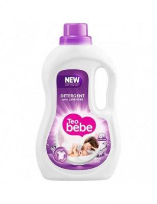 Detergent lichid TEO BEBE Cotton Soft Lavender, 1.1l, 20 spalari foto