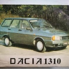 Instructiuni de folosire Dacia 1310. (Carte veche Dacia 1300)