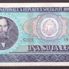 Romania 1966 - 100 lei XF