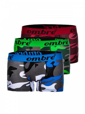 Boxeri barbati set 3 buc - U36-mix-camuflaj foto