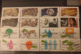 Lot timbre Franta, Stampilat