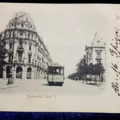 Bucuresti, Bulevardul Carol I - Carte postala clasica