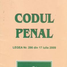 Codul penal - Legea nr.286 din 17 iulie 2009