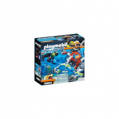 Playmobil Top Agents - Echipa de spioni cu submarin