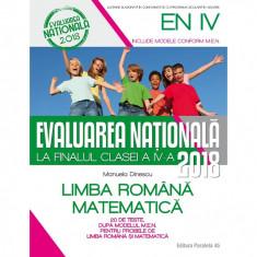 Evaluarea Nationala 2018 la finalul clasei a IV-a - Manuela Dinescu