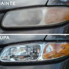 Solutie polis UV pentru restaurat,curatit faruri auto