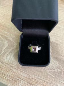 Inel Chopard Happy Diamonds