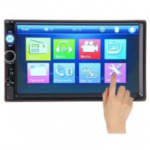 Radio MP3 MP5 Player AUTO 2DIN USB SD card Ecran 7 Bluetooth Touchscreen MirrorLink