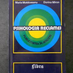 MARIA MOLDOVEANU - PSIHOLOGIA RECLAMEI, PUBLICITATEA IN AFACERI