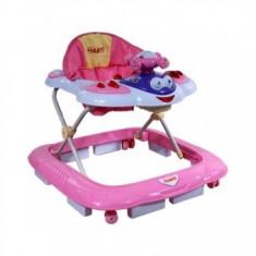 Premergator Pentru Copii First Steps Airplane - Roz