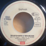 Saphir - The Witch-Queen Of The New Orleans (1986, EMI) Disc vinil single 7""