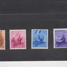 ROMANIA 1958  LP 461  ZIUA  FORTELOR  ARMATE  SERIE SARNIERA