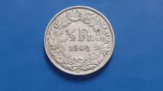 Elvetia , 1/2 Franc 1942 foto