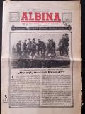 Ziar Albina aniversare 2 ani de razboi 1943 regele Mihai Antonescu front