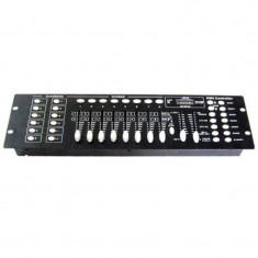 Controller DMX cu 192 canale, microfon incorporat