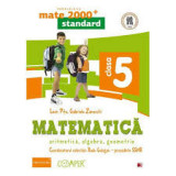 Matematica. Aritmetica, algebra, geometrie. Clasa a V-a