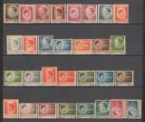 Romania.1945 Regele Mihai I hartie gri  XR.114, Nestampilat