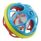 Minge zornaitoare dezvolta simtul tactil, vizual si dexteritatea copilului Girafa Sophie Vulli