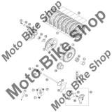 MBS Garnitura pompa ambreiaj KTM 250 EXC-F Australia 2007 #24, Cod Produs: 59032065000KT