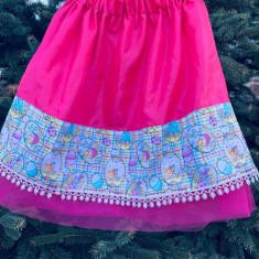 Fustita cu model de Paste, roz, Universal, Multicolor