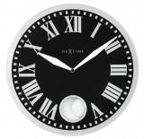 Ceas de perete NeXtime Romana 43cm Black