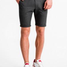 Pantaloni scurti, premium, barbati - W230-gri-inchis
