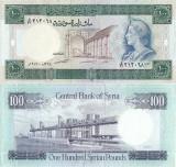1978 , 100 syrian pounds ( P-104b ) - Siria - stare XF