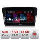 Navigatie dedicata Skoda Octavia 2014-2020 E-279 cu Android Radio Bluetooth Internet DSP Octa Core 4+64GB 4G CarStore Technology