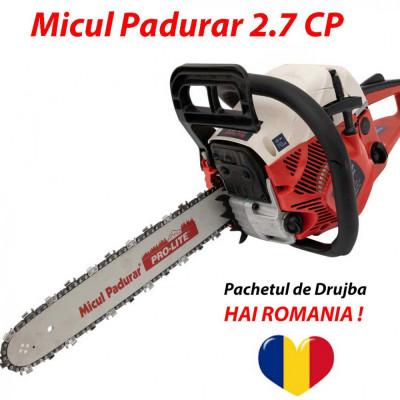 Pachetul de Drujba HAI ROMANIA ! 2.7 CP +Extra Lant +Ulei foto