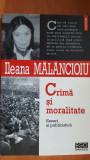 Crima si moralitate- Ileana Malancioiu