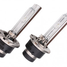 Set 2 becuri D2S xenon premium 5500K + 30% mai multa lumina