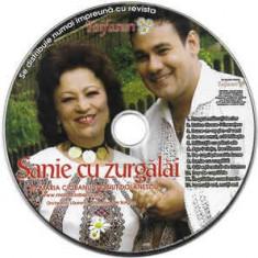 CD Maria Ciobanu Și Ionuț Dolănescu – Sanie Cu Zurgălăi , original, holograma