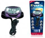 Lanterna Frontala Varta Outdoor Sports, 2x1W LED
