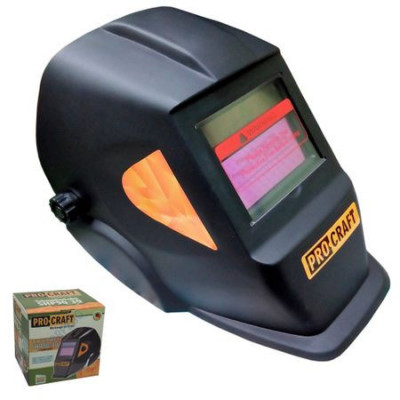 Masca Sudura ProCraft SHP90-30 Automata, Solara cu reglaj si cristale foto