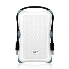 Hard disk extern Silicon Power Armor A30 1TB USB 3.0 2.5 inch White
