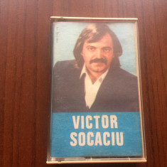 Victor Socaciu album caseta audio muzica folk pop rock electrecord STC 00395