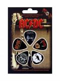 Set 5 pene pentru chitara - AC/DC | Rock Off