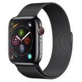 Curea smartwatch Devia Elegant Series Milanese Loop Space Black pentru Apple Watch 42mm / 44mm