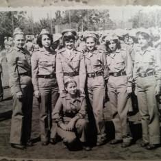 Studentele fac armată, anii 70, IASI, comunism