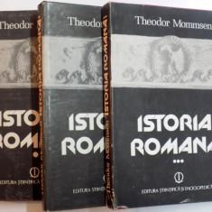 Istoria romana vol. I-III , MOMMSEN