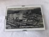 Carte postala RESITA - zona industriala - perioada interbelica, Necirculata, Printata