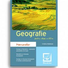 GEOGRAFIE PENTRU CLASA A XII-A - CRISTINA MOLDOVAN